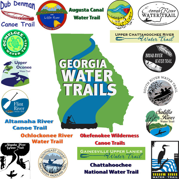 GA Water Trail Network graphic