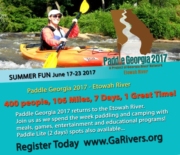 Paddle Georgia 2017 Promo Happy Girl