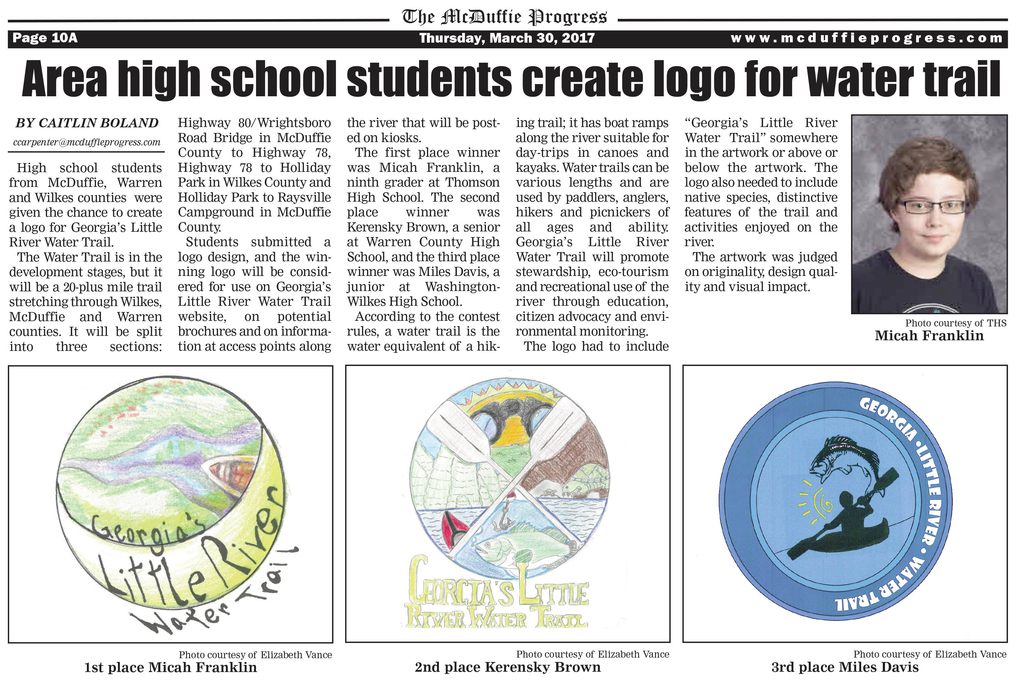 YRWT Logo Contest News Article 2