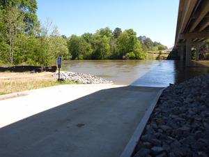 Flint River Access Ramp 2