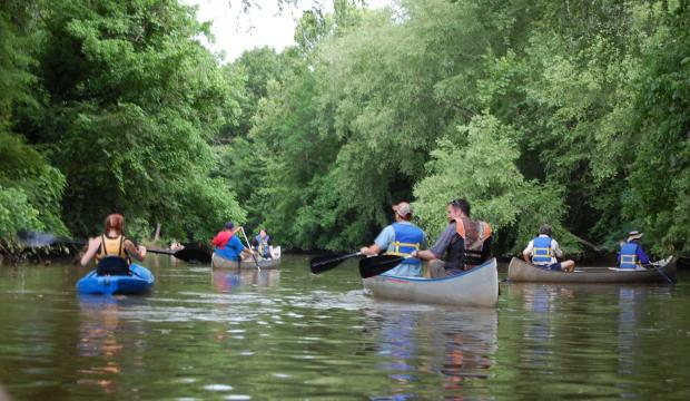 VIP Paddle on river 4