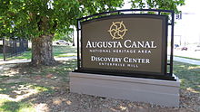 Augusta_Canal_Discovery_Center_main_sign_a