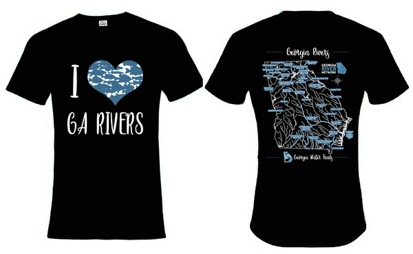 I Love Rivers Shirt 2
